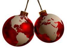 bolas navidad mundos
