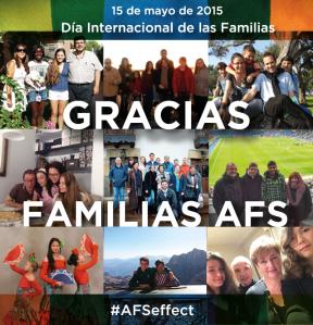 Gracias, Familias AFS