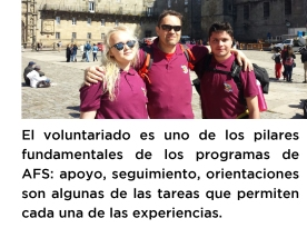 voluntariado en AFS