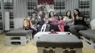 Gema Reyes - TRecNH17 SVK con su familia
