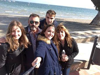 Virginia Kleiner - SMscSH18 GER con su familia en MURCIA 4
